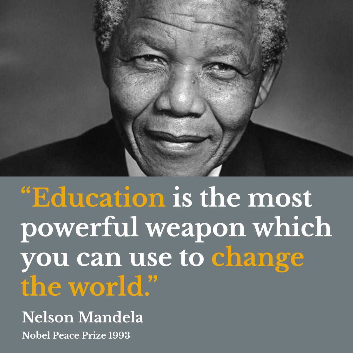 We remember a wise man, Nelson Mandela, on what would have been his 100th birthday.  #Mandela100 #MandelaDay