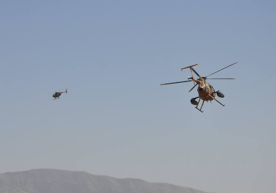 21 insurgents killed and 2 wounded in ANA airstrikes and clearing operations in Imam Sahib and Dasht Archi district of Kunduz.