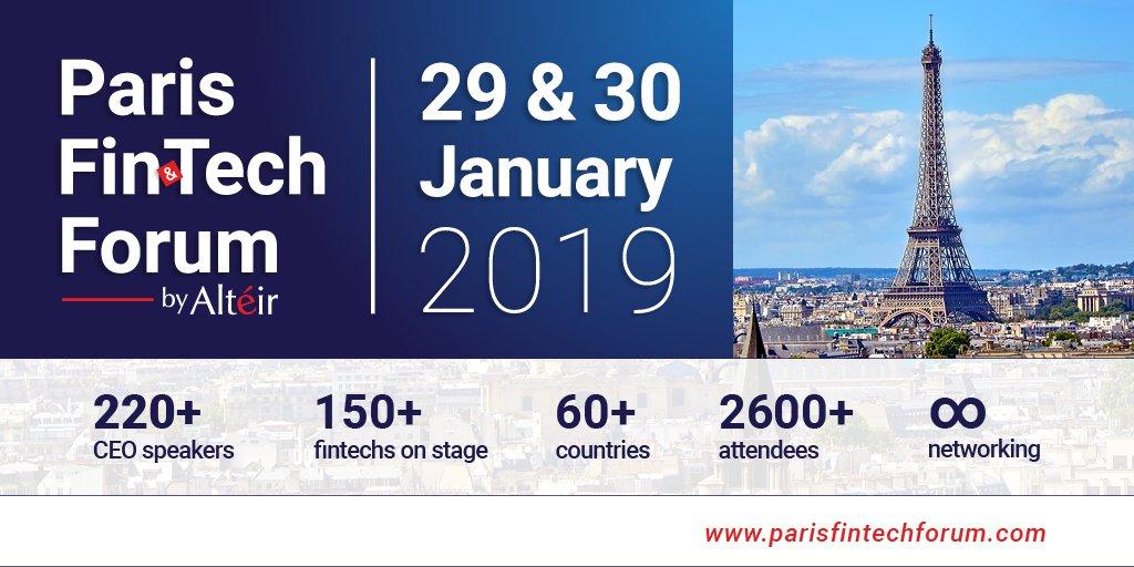 """Résultat de recherche d'images pour """"paris fintech forum 2019"""""""