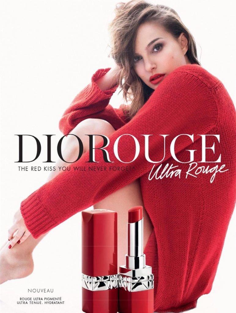 Natalie for Dior Ultra Rouge lipstick 💋