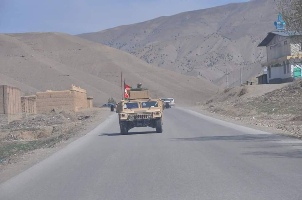 4 insurgents killed and 3 wounded in clash between Afghan National Army (ANA) and Taliban in Sayed Abad district of Wardak.