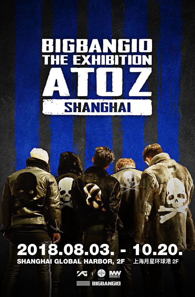 #BIGBANG10 THE EXHIBITION : A TO Z IN SHANGHAI  More info ➡️ https://t.co/MoQhDfCyCg   #BIGBANG #ATOZ #GD #TOP #TAEYANG #DAESUNG #SEUNGRI