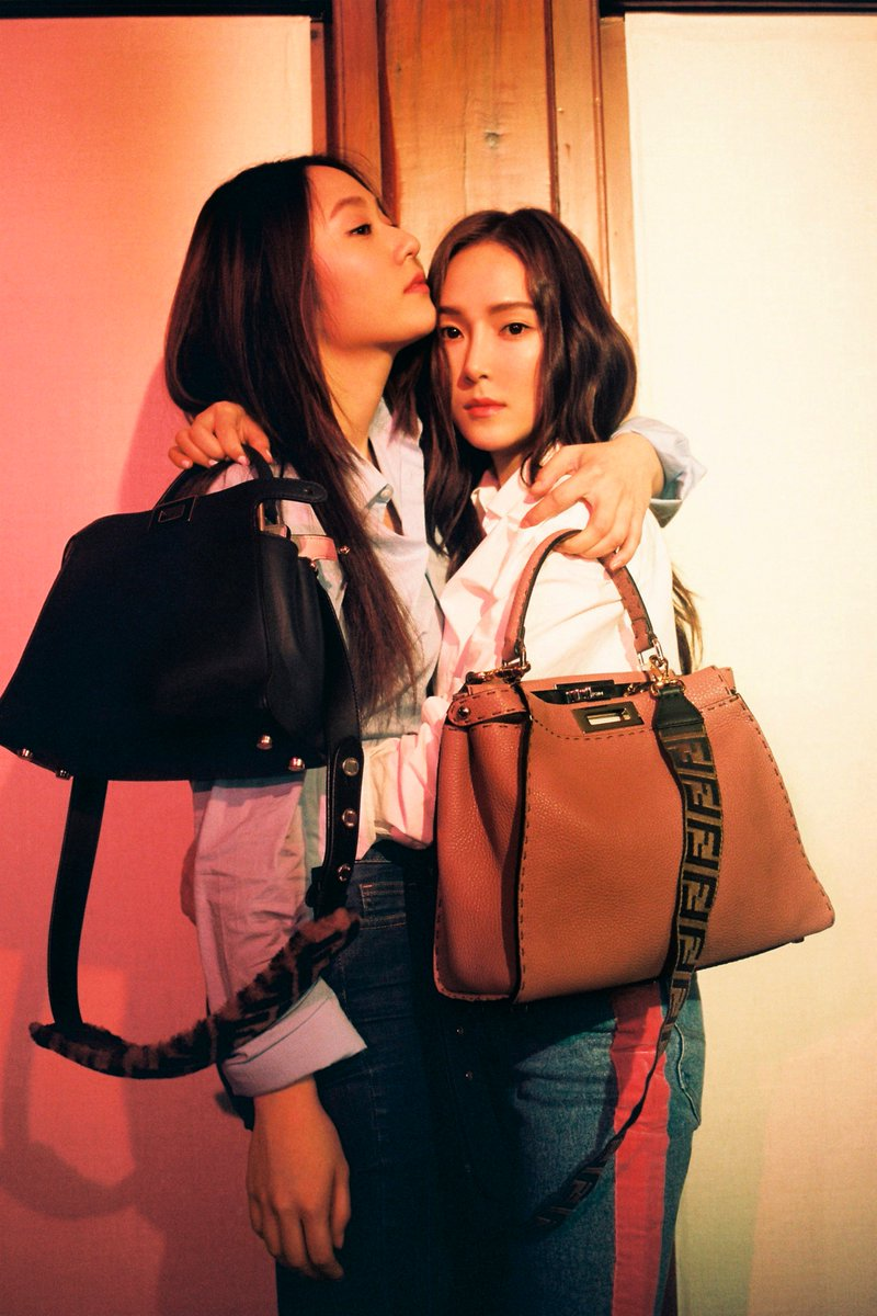 Jessica Jung reveals a different side to her relationship with sister Krystal for #MeAndMyPeekaboo Chapter II. Join the Fendi Family: https://t.co/RFdlvwAyXq #FendiPeekaboo
