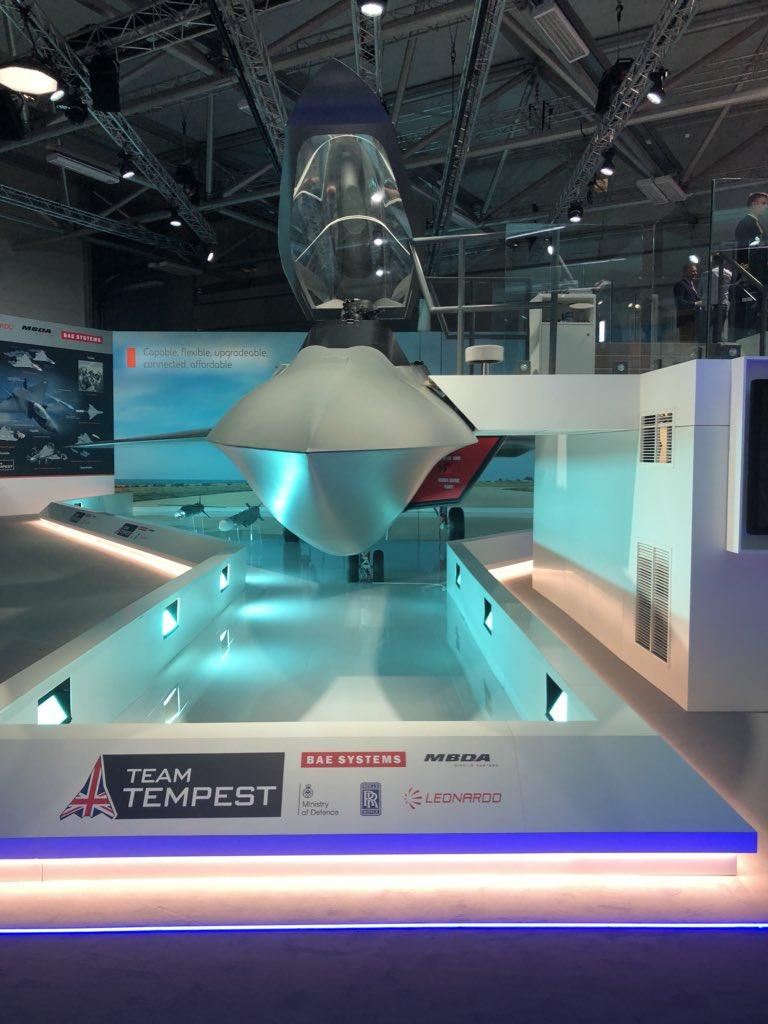 الكشف عن مشروع Tempest : المقاتله المستقبليه الاوروبيه   DiYTBsFUcAEMT9p