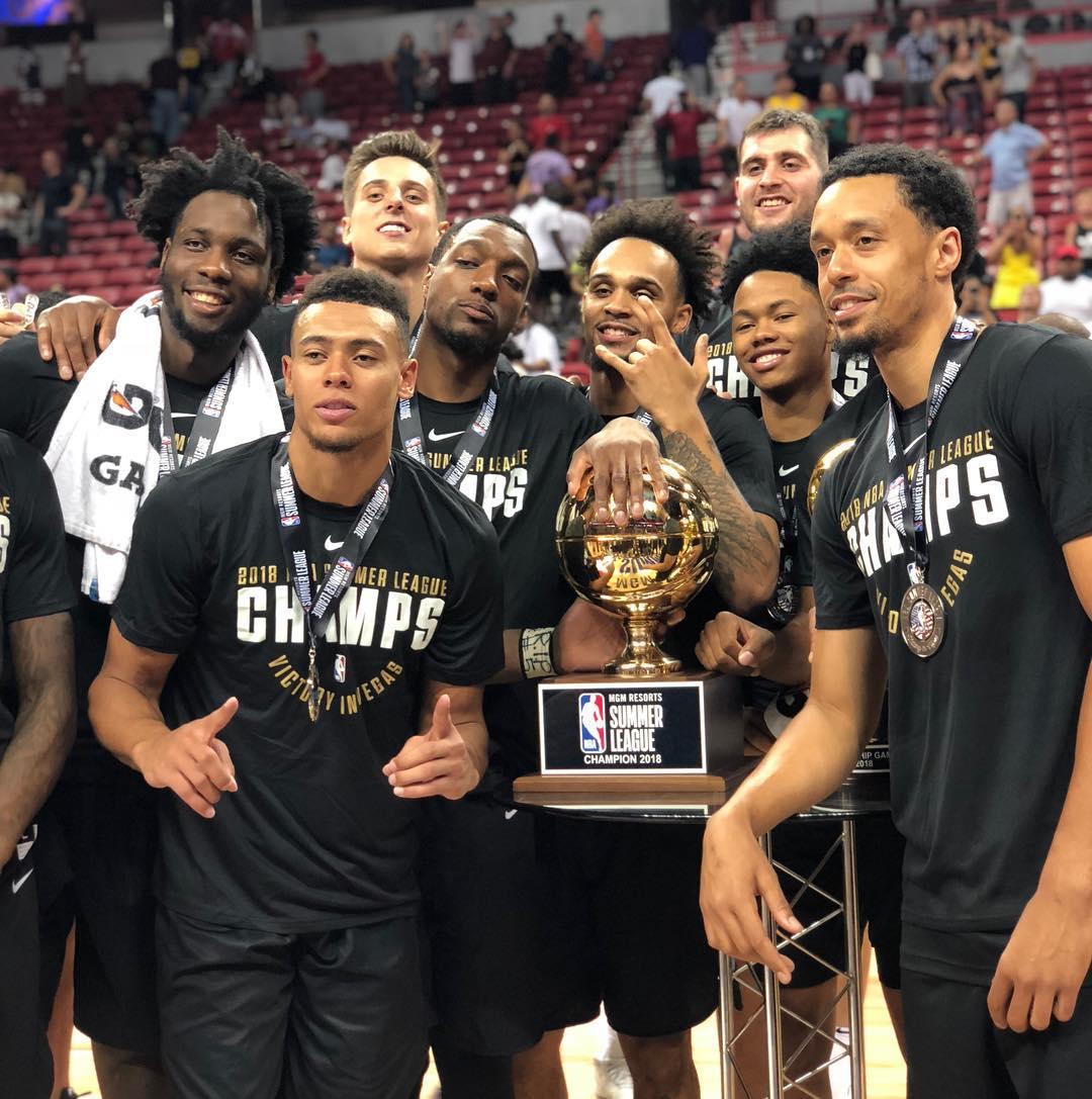 The @TrailBlazers are the 2018 Las Vegas Summer League champions! #NBASummer