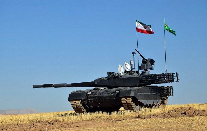 الجيش الايراني يخطط لاقتناء 800 دبابه نوع Karrar  DiYUq_KXcAAYYvI