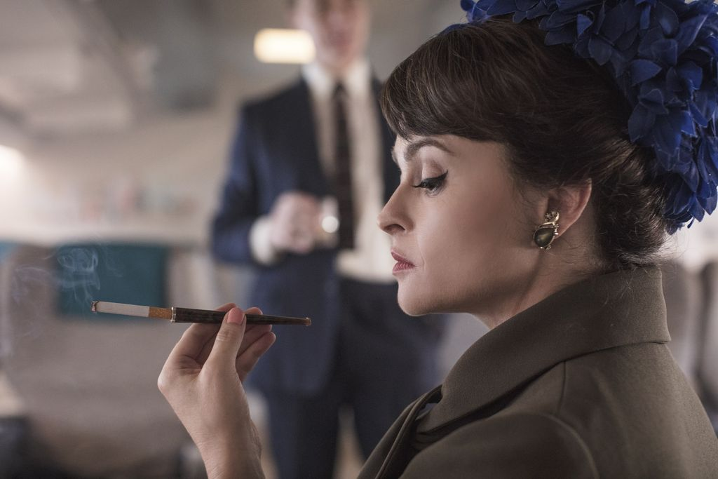 A first look at Helena Bonham Carter as HRH Princess Margaret for @TheCrownNetflix. Eek!