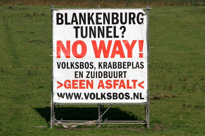 Definitief groen licht voor Blankenburgtunnel https://t.co/UL6x4mGhYq https://t.co/oL7xaVNUky