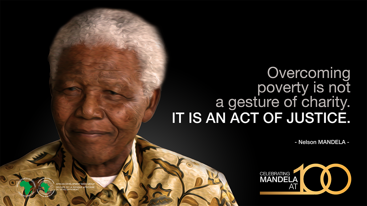Today marks what would have been Nelson Mandela's 100th birthday. We celebrate Mandela for his lifelong devotion to the social and economic emancipation of #Africa. #BeTheLegacy #Mandela100 #MandelaDay