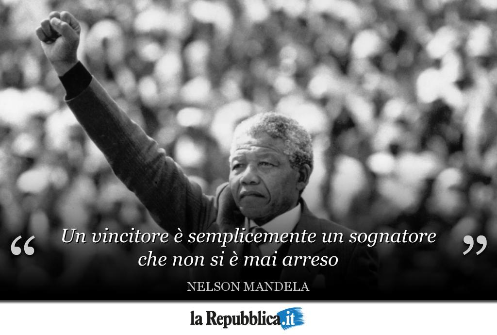 Oggi è il #MandelaDay: 100 anni fa, il #18luglio 1918, nasceva Nelson #Mandela, l'uomo simbolo della lotta all'Apartheid in #Sudafrica. Attraverso dieci frasi celebri, ripercorriamo i momenti della vita del Premio Nobel per la Pace 👉 https://t.co/3xwDzFg7Vh