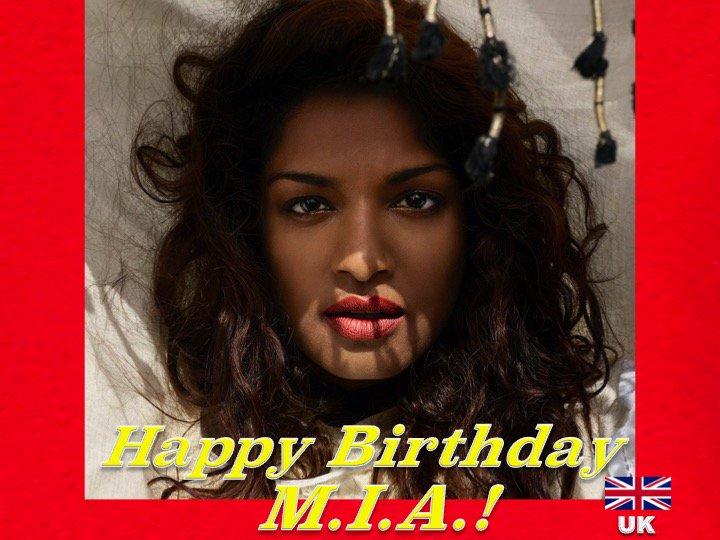 Happy Birthday to the very talented #Mia! @MIAuniverse  👏🇬🇧🎶🎤🎂🎉🎁🎈💐😍🌟💫🎇