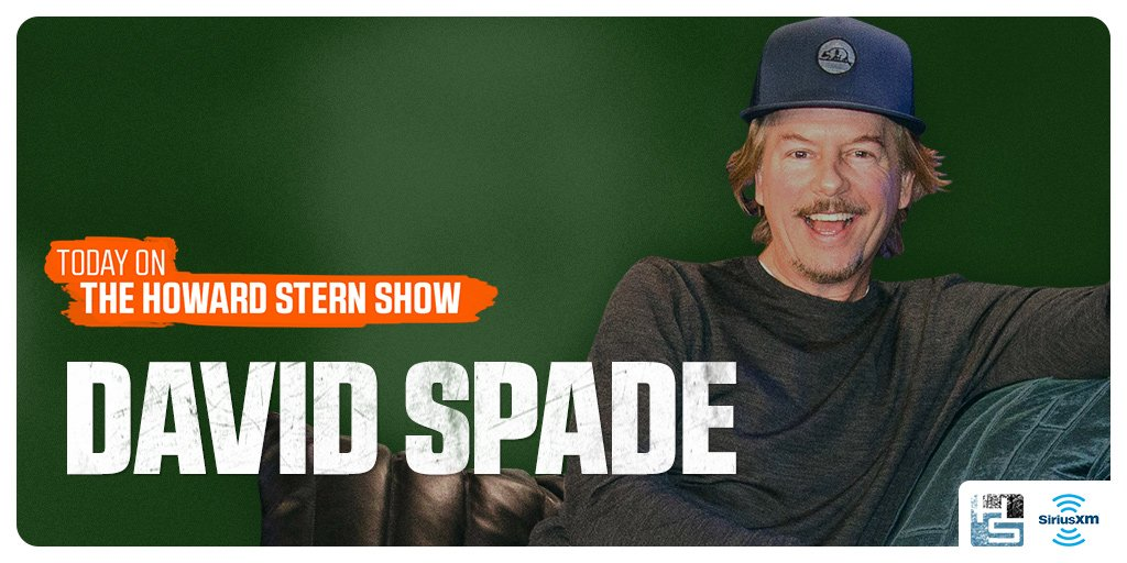Today: @HowardStern is joined by comedian, actor, and longtime friend of the #SternShow @DavidSpade on #Howard100: https://t.co/QERn9o9wCs