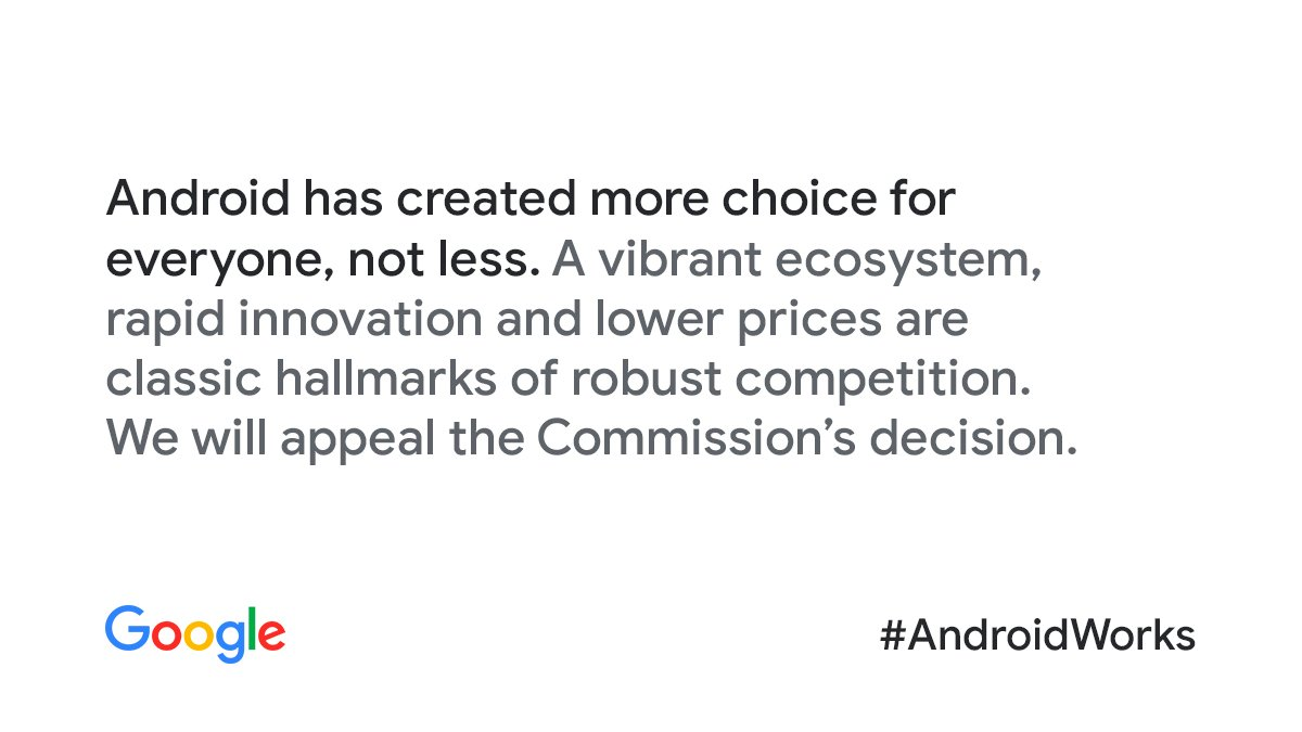 #Android has created more choice for everyone around the world, not less. #AndroidWorks goo.gl/9CxgW9