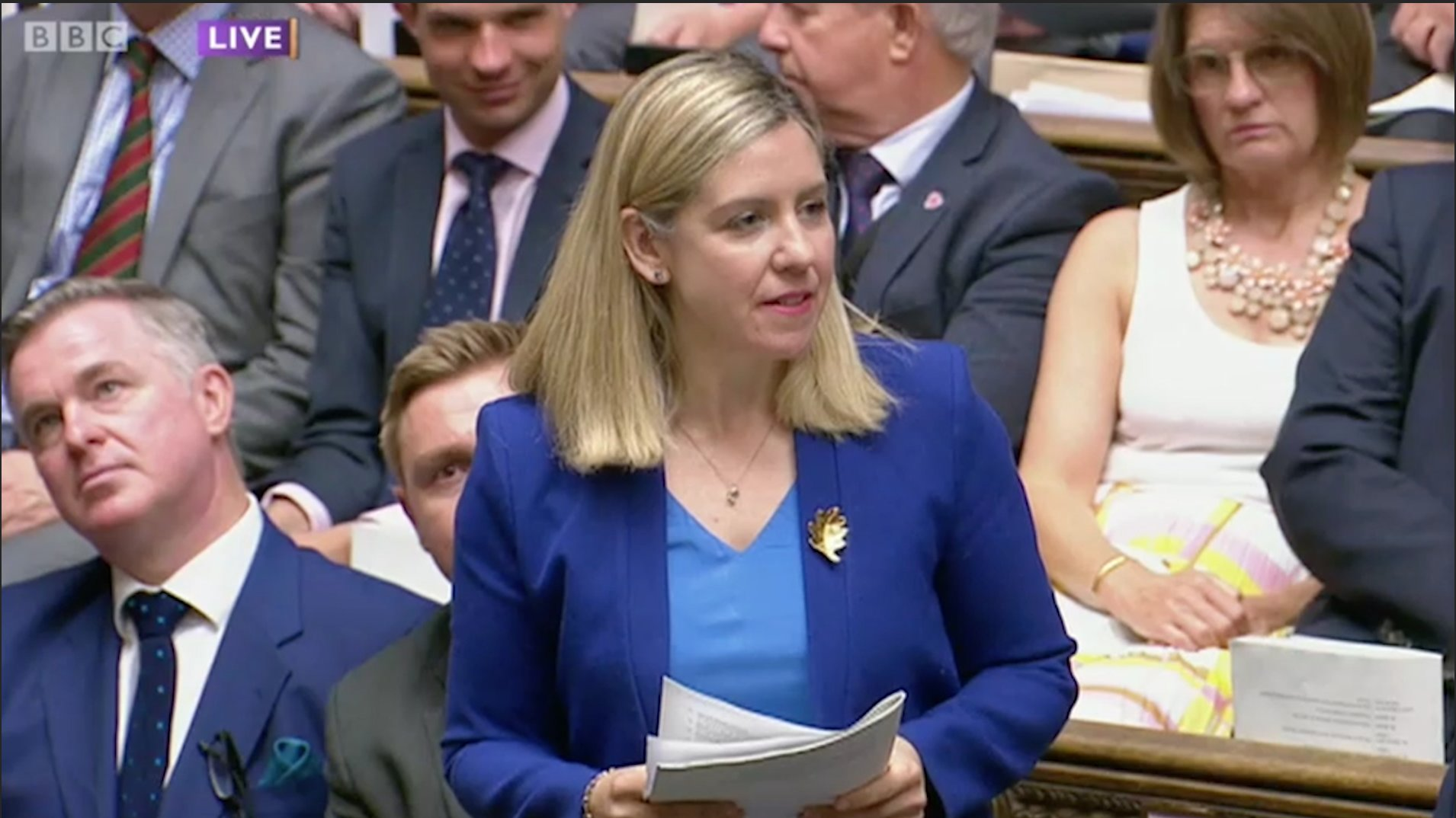 Andrea Jenkyns to @theresa_may: At what point was it decided that Brexit meant Remain? https://t.co/fAyGVM8LLb