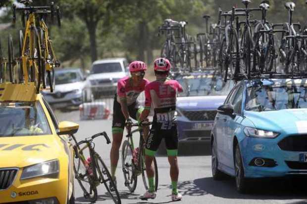 Nairo sube, Rigo afloja en el Tour de Francia https://t.co/bOkqA3iQZ0 vía @lapatriacom https://t.co/Huia1C0LKh