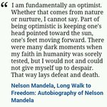 Image for the Tweet beginning: On #MandelaDay2018, his words are
