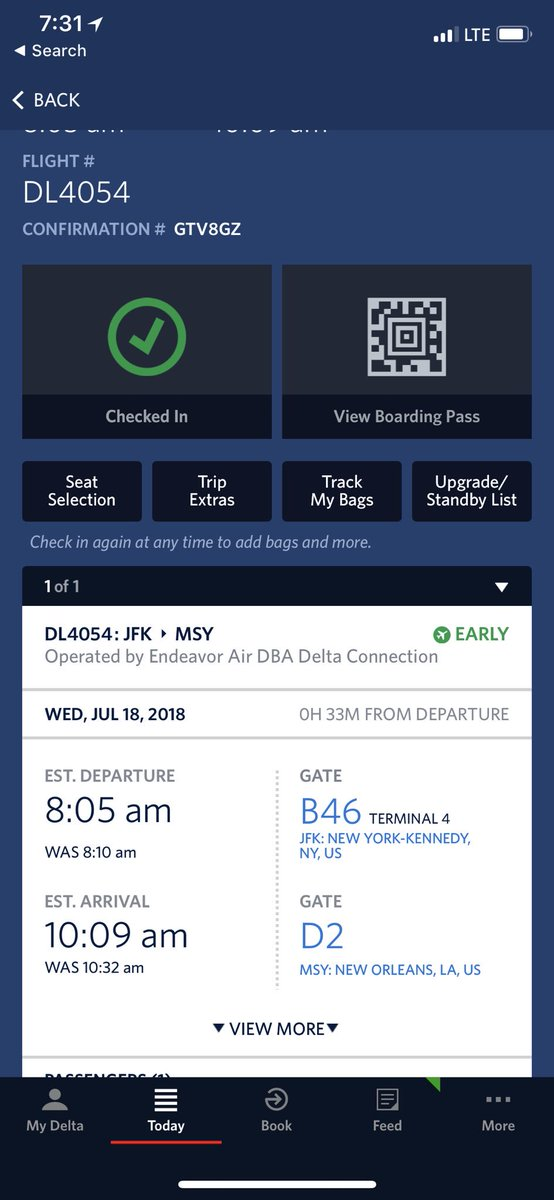 Rachel Harrison On Twitter I Was Here With 46 Minutes To Spare And Delta Changed The Departure Time And Moved It Up By Five Minutes Meaning I Was 4 Minutes Late Original