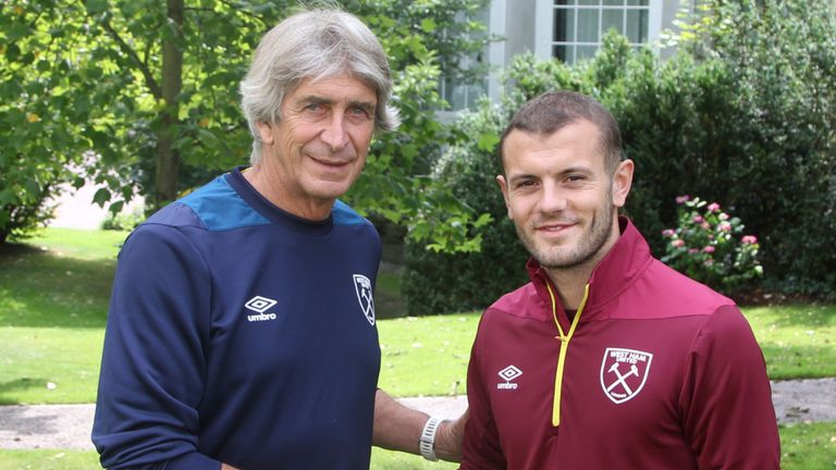 Former Arsenal midfielder Ray Parlour has praised Jack Wilshere for not taking the easy option of signing a new deal and moving to West Ham. Read here: skysports.tv/2yU7m3
