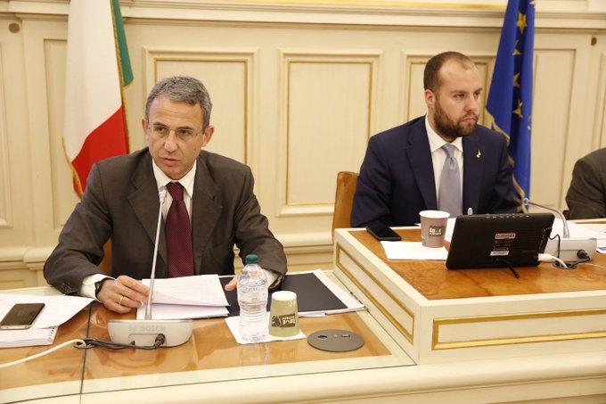 Audizione del Ministro @SergioCosta_min-@minambienteIT in Commissione #Ambiente sulle linee programmatiche del suo dicastero. Diretta: #OpenCamera Foto