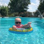 Image for the Tweet beginning: Too cool for pool.