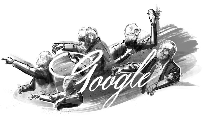 """Today's #GoogleDoodle celebrates Maestro Kurt Masur, world-renowned German conductor and humanitarian who believed in the power of music to """"bring humanity closer together"""" → https://t.co/zJoeFEXx5u"""