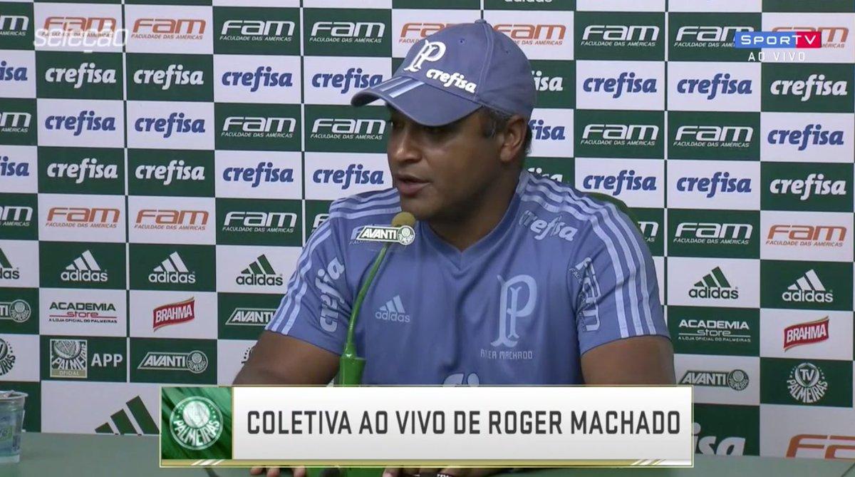 Coletiva de Roger Machado no #SelecaoSporTV