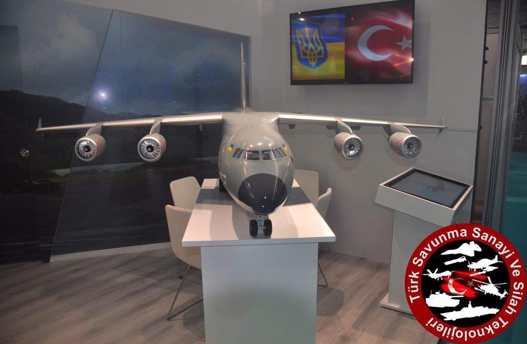 مفاوضات بين تركيا واوكرانيا من اجل انتاج مشترك لطائرة النقل العسكري Antonov An-188 الجديده  DiZ9DUeWsAEyZ5s