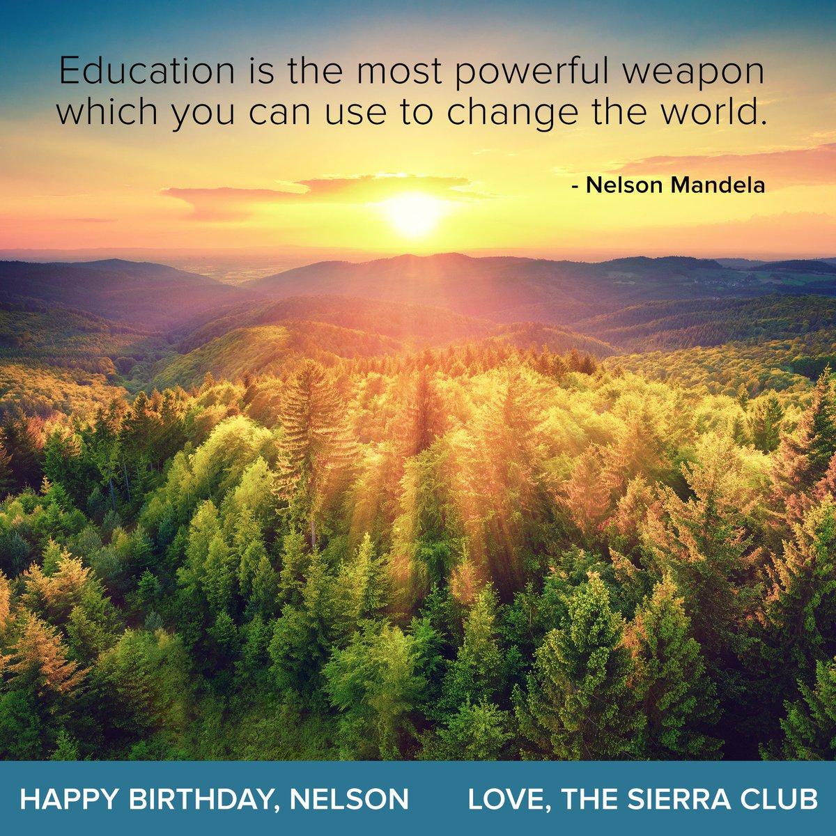 Nelson Mandela was born on July 18, 1918. #WednesdayWisdom