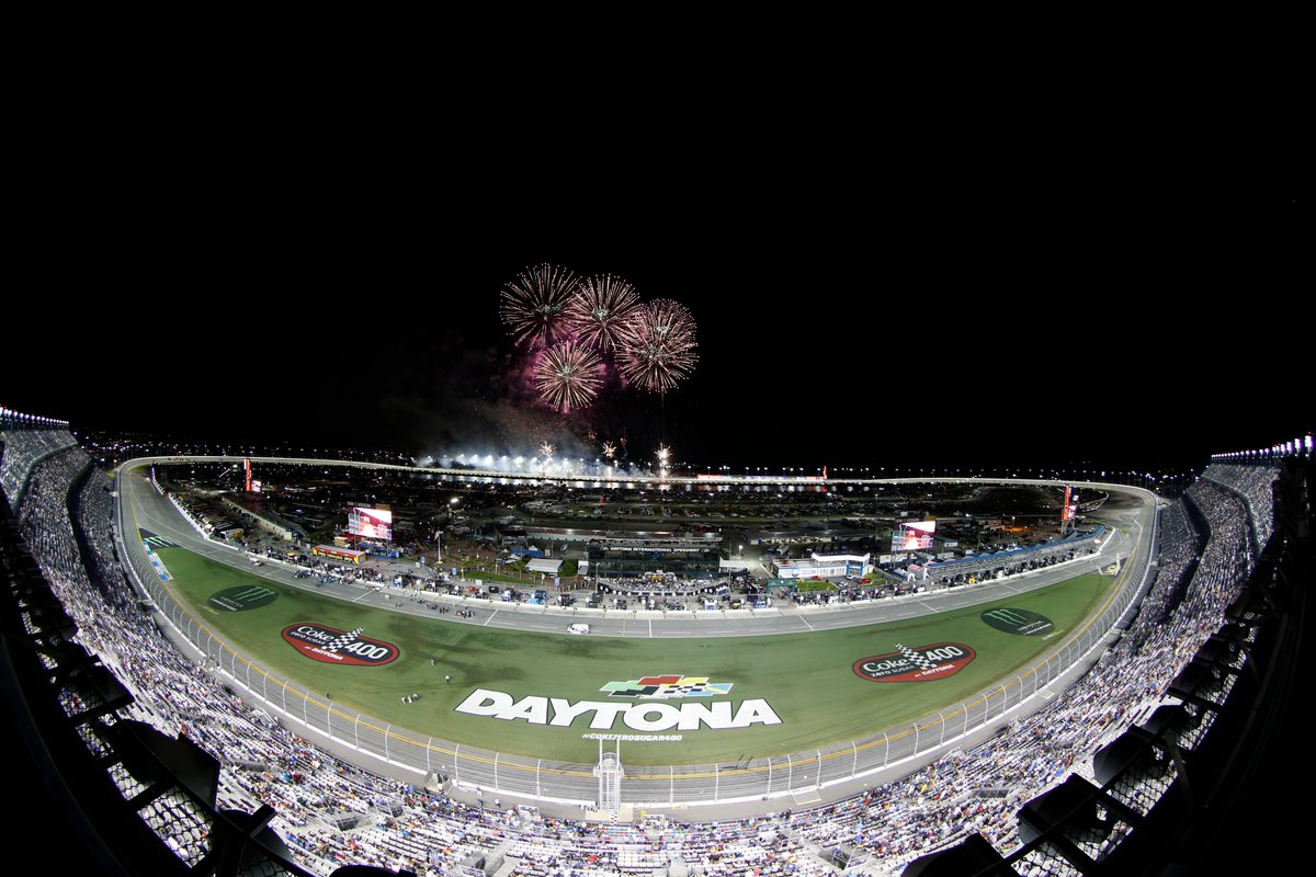 Did you catch the fireworks after the #CokeZeroSugar400?