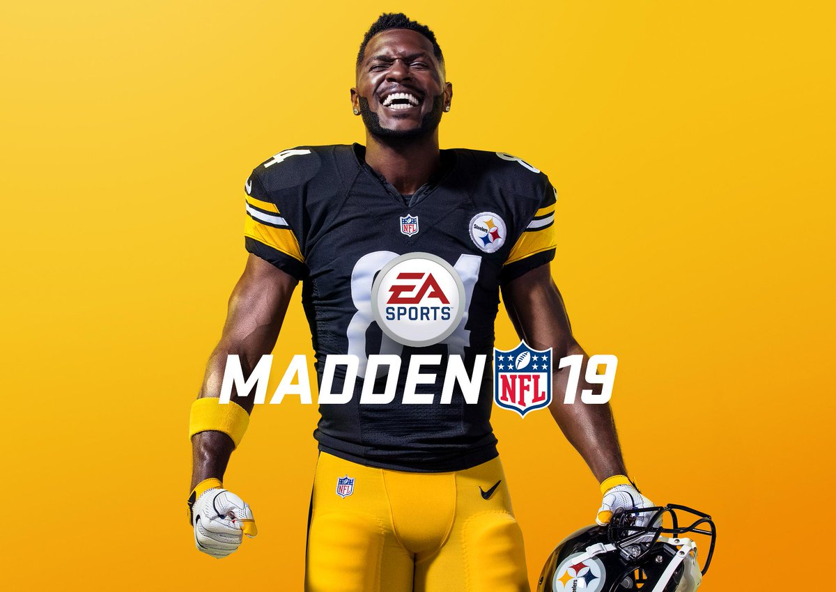 The newest @EAMaddenNFL cover athlete is... @AB84! 🆎🙌  #Madden19