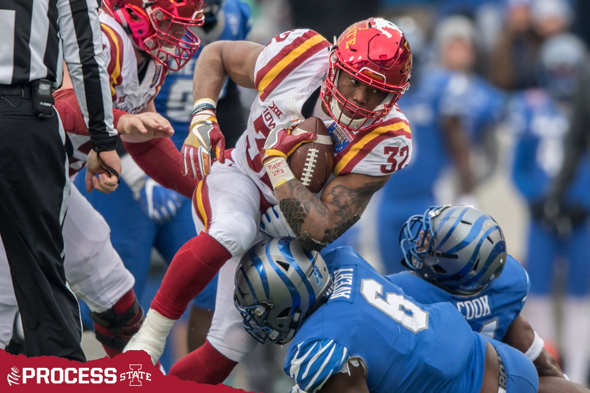 """Cyclone Football on Twitter: """"All-American RB ..."""