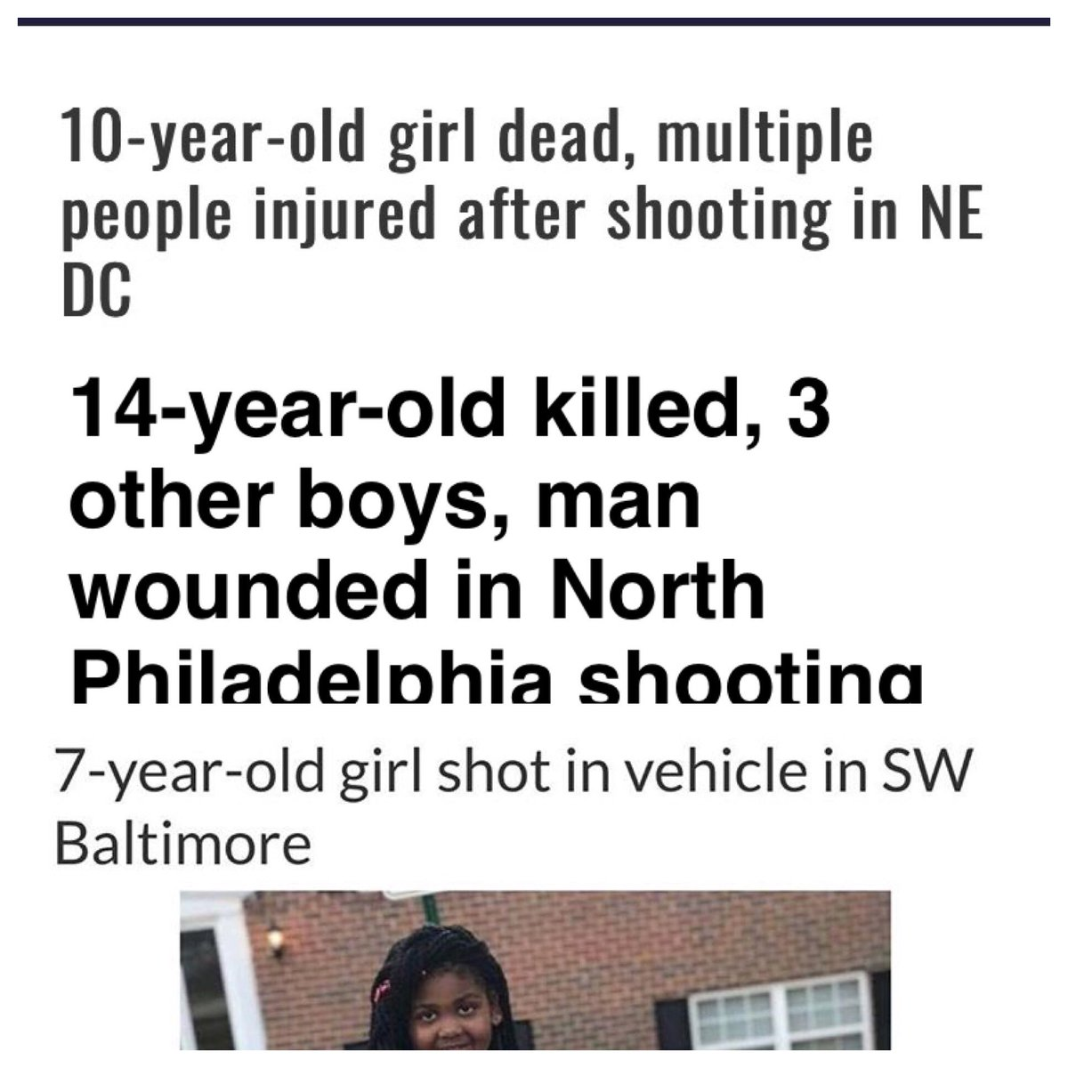 Woke up this morning with a lot on my mind. We have babies dying because dudes can't put the guns down. I'm a firm believer in taking care of home first before you take care of anything else. We need to take better care of our communities. Show more love and respect to each other