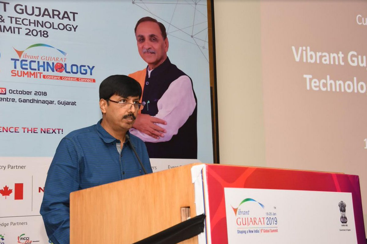 Vibrant Gujarat StartUp and Technology Summit from October 11 to 13, 2018; upto Rs 3 crore prizes in offering for startups, innovators