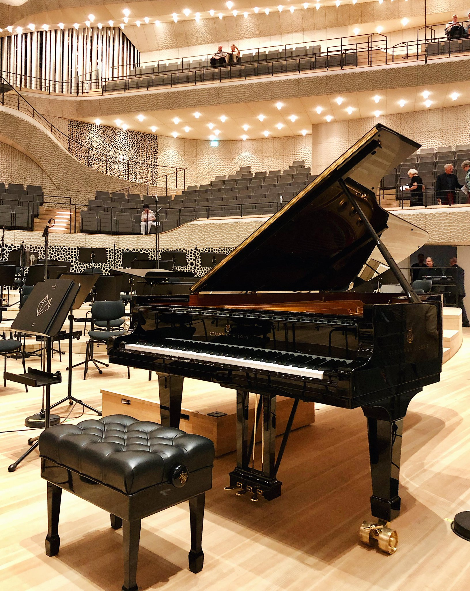 Reloaded twaddle – RT @SteinwayAndSons: The most acoustically-advanced concert halls in the world r...