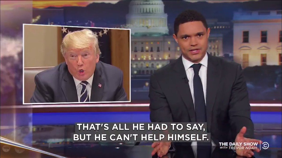 Image for the Tweet beginning: All Trump had to say