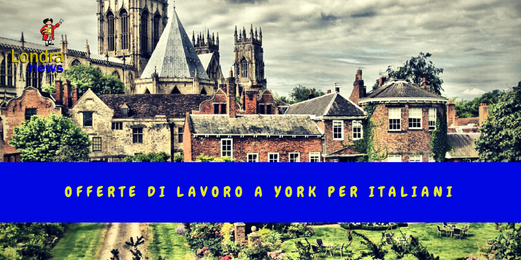 Ultime offerte di lavoro a York per italiani: Vale la pena cercare lavoro a York? York è una città che ha oltre 2000 anni, con tanti edifici storici e musei. Ora ha quasi 200.000 abitanti, con oltre 94% della popolazione bianca e piccole minoranze dal… https://t.co/2AD1TcwSeX