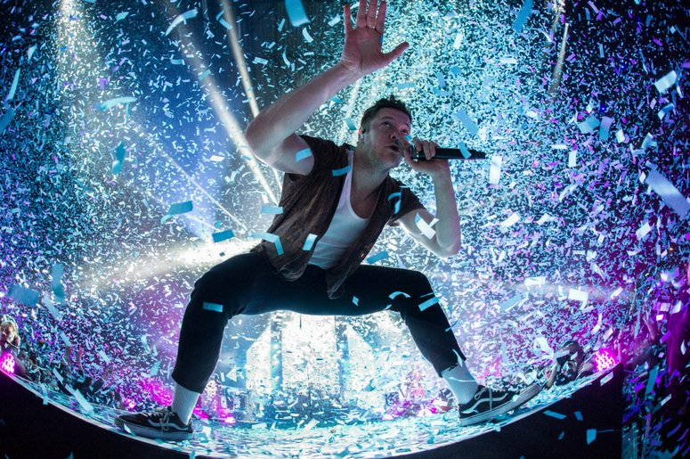 """#ImagineDragons release #Natural, their most powerful Single since #Radioactive, and its so explosive, #ESPN has made it its official 2018 """"College football season anthem""""!💥😍 @espn @Imaginedragons https://t.co/WleYJui4fl"""