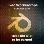 Image for the Tweet beginning: iExec Workerdrop #1: July 20th,