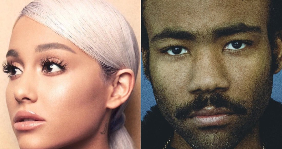 New entries from @ArianaGrande and @donaldglover are set for this week's Official Singles Chart. View the midweek Chart Update https://t.co/hDxsPqBc3U