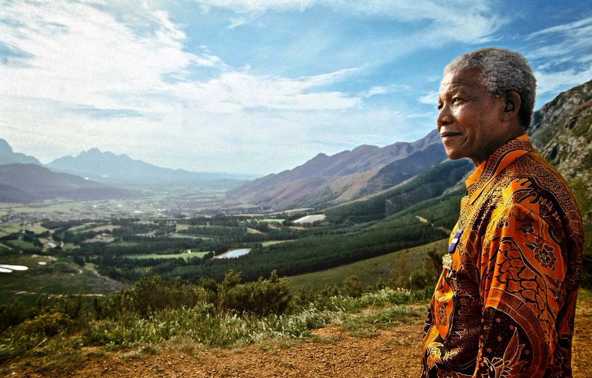 """Nelson Mandela's sacrifice and triumph teach us what a powerful impact one person can have. """"We can change the world and make it a better place. It is in your hands to make a difference."""" #Mandela100"""