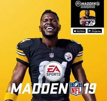 Antonio Brown Is Madden NFL 19's Cover Star  https://t.co/KJvXoC6dH3