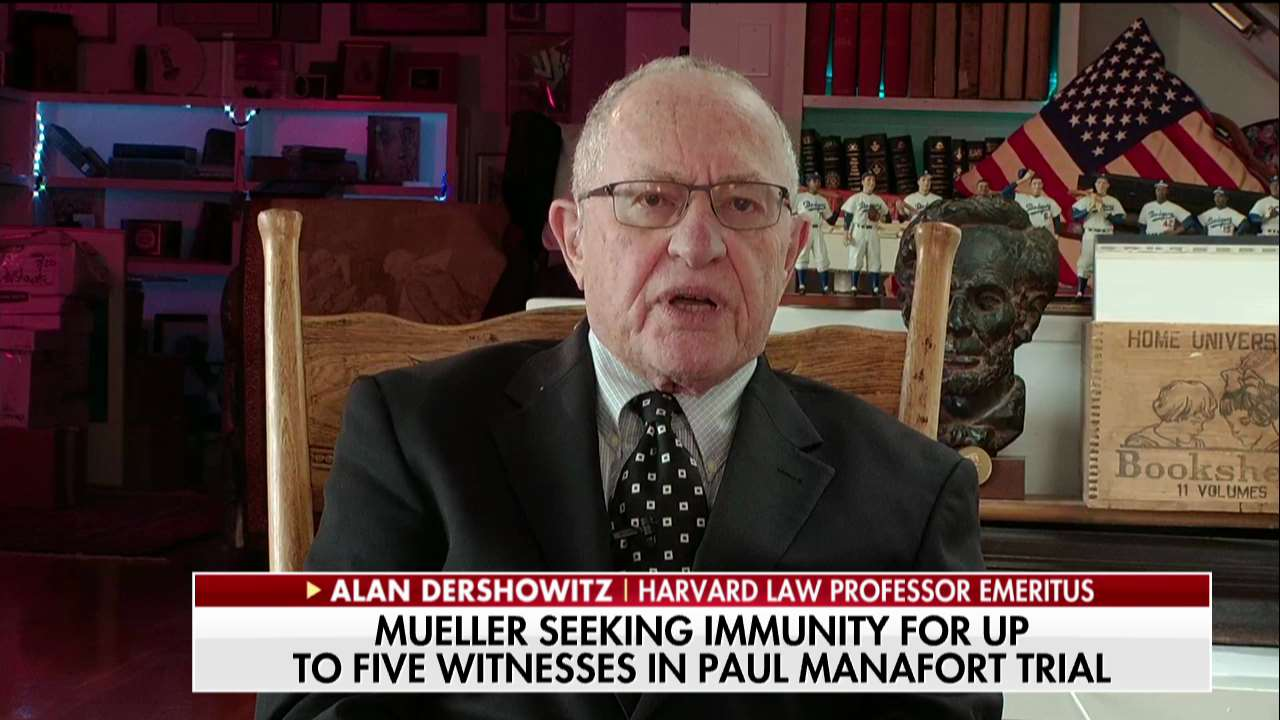 .@AlanDersh: 'This whole Manafort case demonstrates that there was never a need for a special counsel.' https://t.co/uSwluDchnf