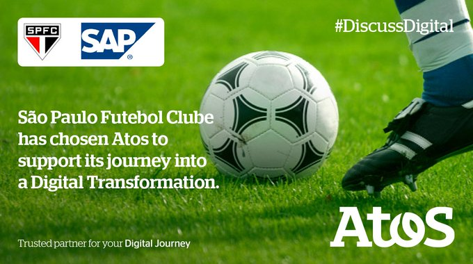 And how by partnering with Atos, @SaoPauloFC_eng could get to the top of the...
