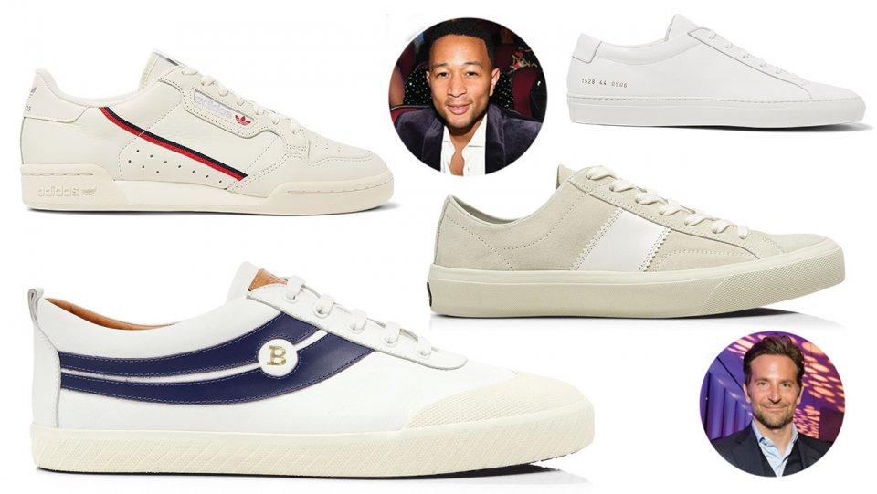 Return of the white sneakers: @johnlegend's and Bradley Cooper's fave footwear https://t.co/AlmEX2O1zo https://t.co/ifn3xB1SpO