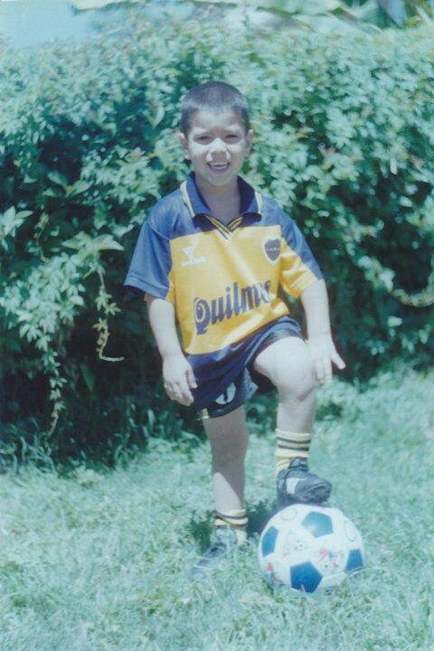 René Olaza, padre de Lucas Olaza en @TyCSports: 'De chico, Lucas se ponía la camiseta de Boca'. https://t.co/D7LvIzgf2X