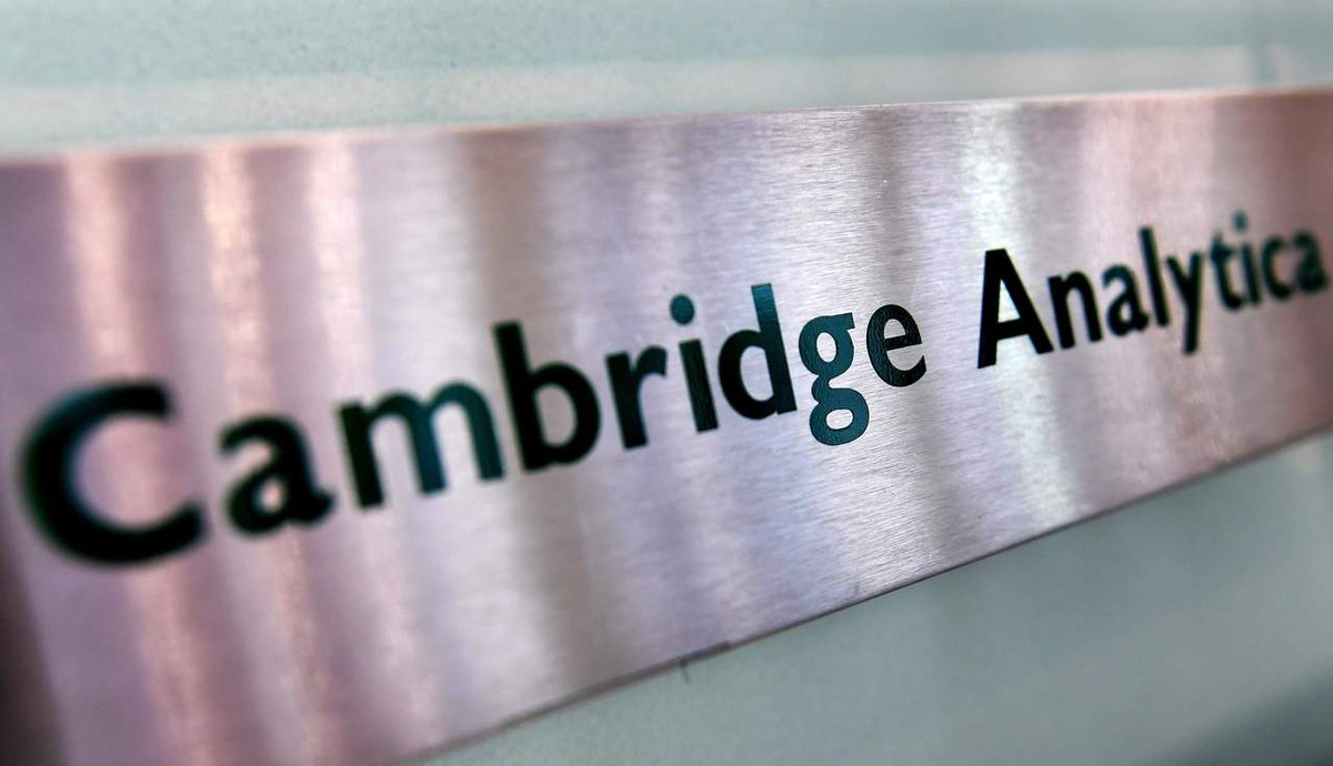 #Cambridgeanalytica Latest News Trends Updates Images - SigloDurango