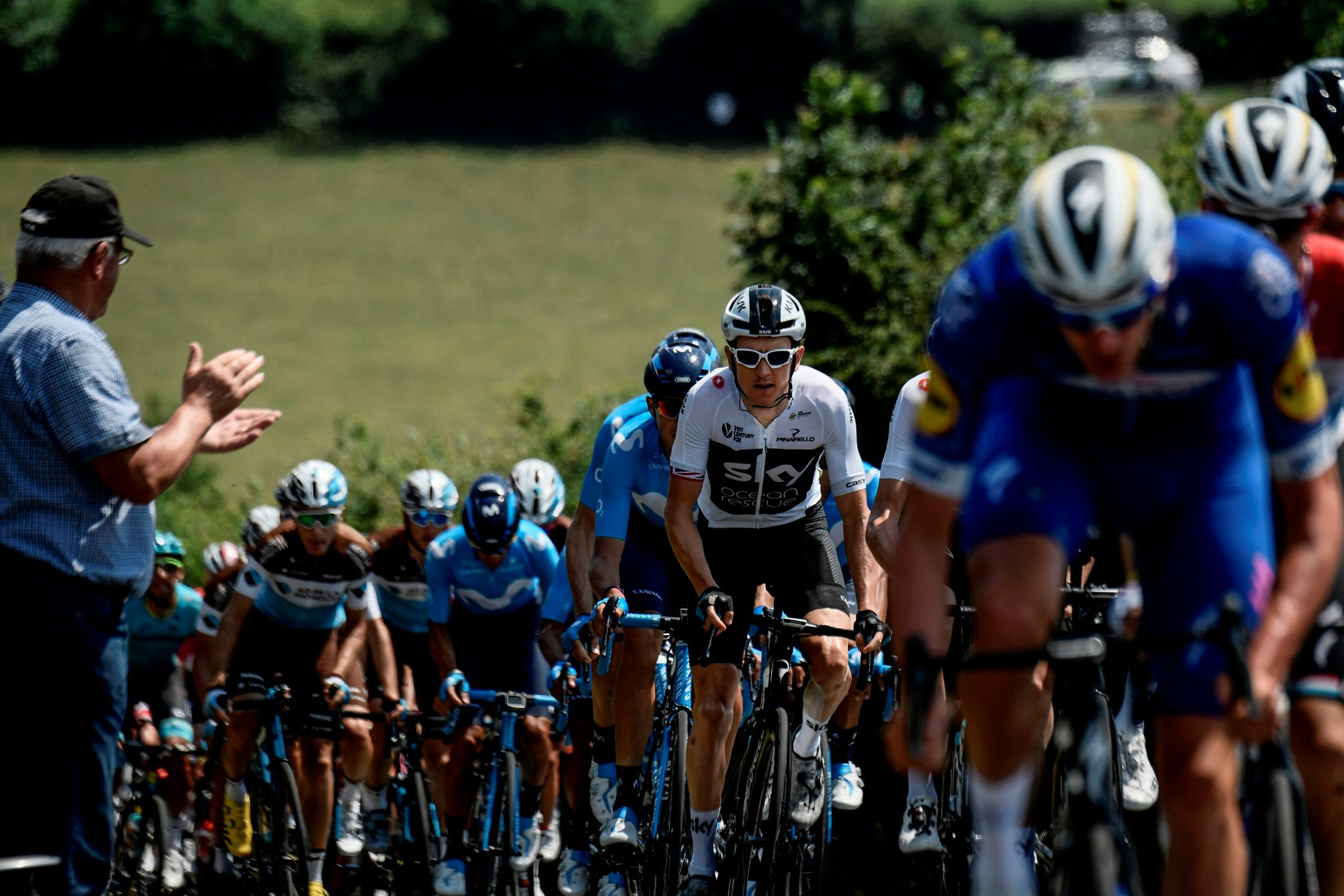 BREAKING: @TeamSky's @GeraintThomas86 wins stage 11 of @LeTour to take yellow jersey as stage winner #SSN #TDF2018 https://t.co/rSrvuhHQK7