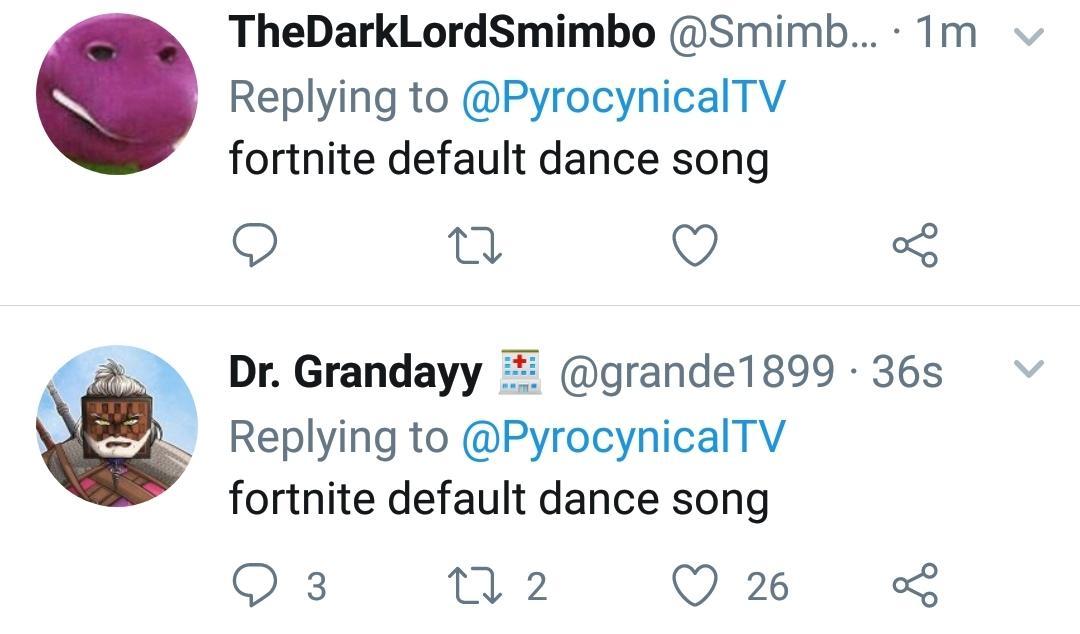 Dr Grandayy On Twitter Fortnite Default Dance Song