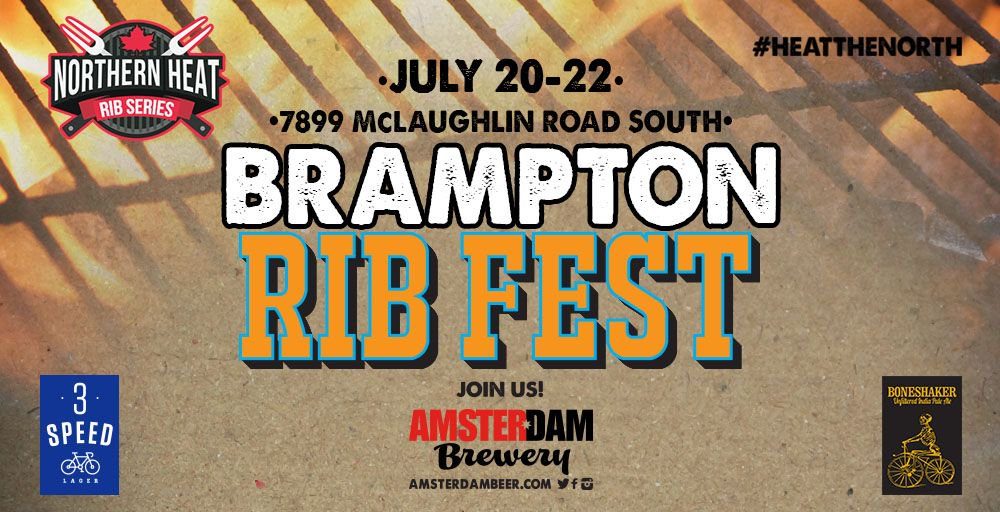 Amsterdam Brewery On Twitter Catch Us This Weekend For BRAMPTON