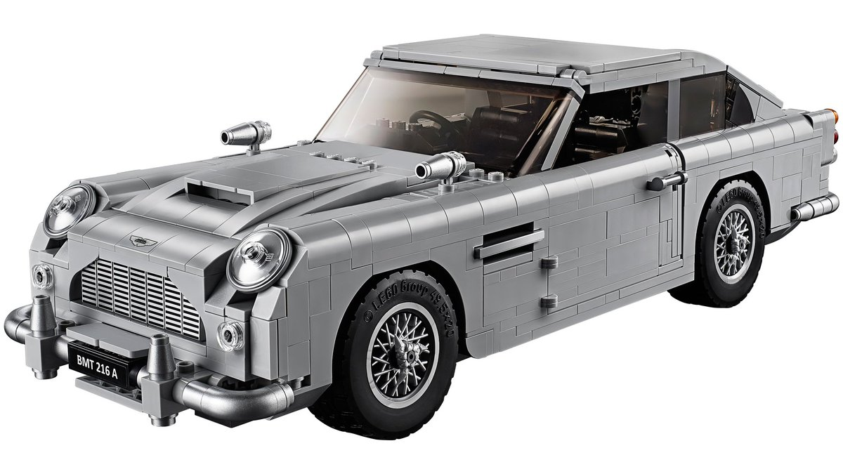 Lego recreated James Bond's Aston Martin DB5 complete with ejector seat and hidden machine guns https://t.co/eGeixpruPW